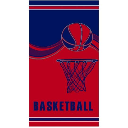 Полотенце махровое 70х140 Баскетбол
