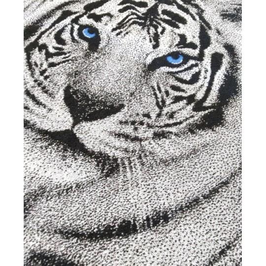 Полотенце махровое 70х140 Белый тигр