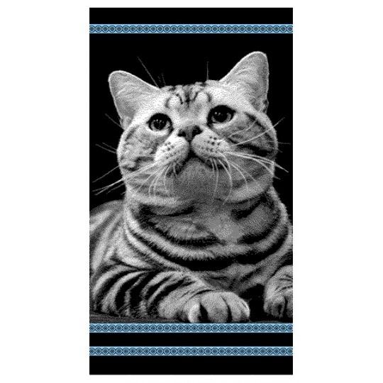 Полотенце махровое 70х140 Котик