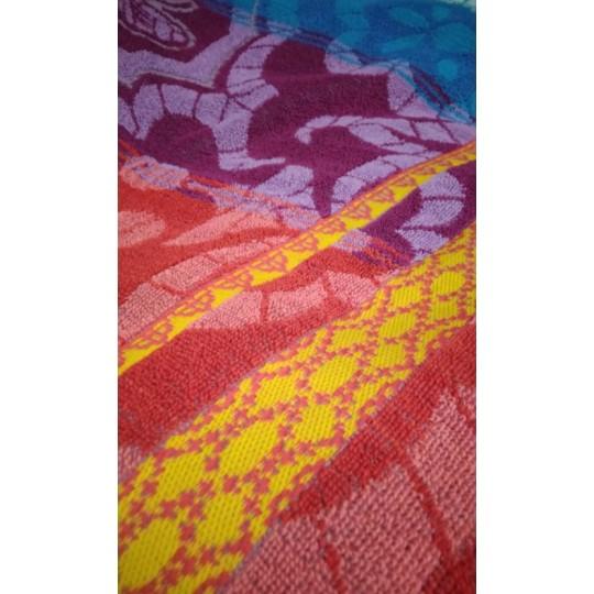 Полотенце махровое 70х140 Бабочки ришелье