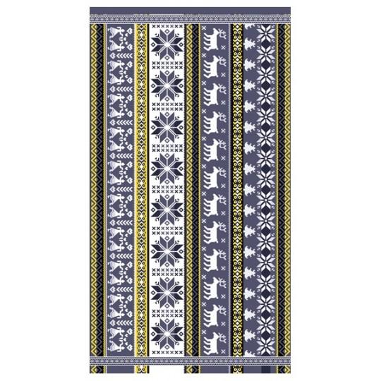 Полотенце махровое 70х140 Скандинавский мотив