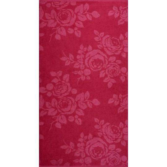 03088 Полотенце махровое 100х150 Rose Color
