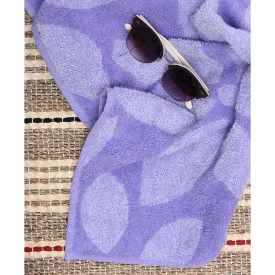 03089 Полотенце махровое 100х150 Lilac Color