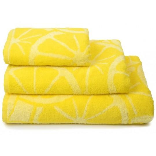 03947 Полотенце махровое 70х130 Lemon color