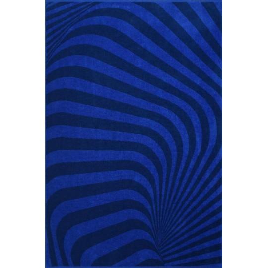 03949 Полотенце махровое 70х130 Sapphire color