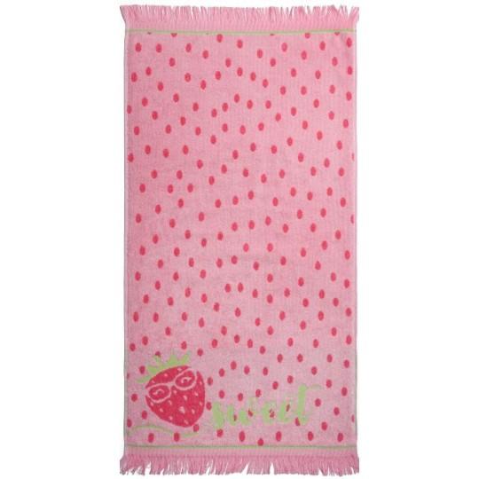 03954 Полотенце махровое 70х130 Sweet strawberry