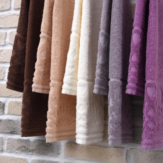 03979 Полотенце махровое 30х70 Chantilly, коричневый