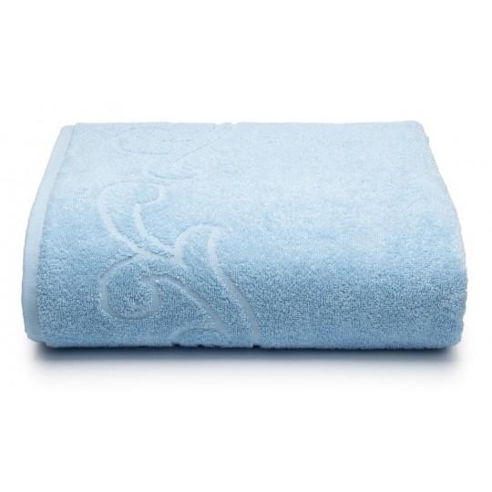 04353 Простыня махровая Romance 150х200 см, голубая