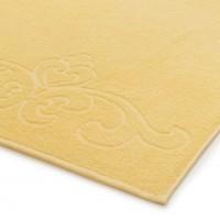 04353 Простыня махровая Romance 150х200 см, желтая