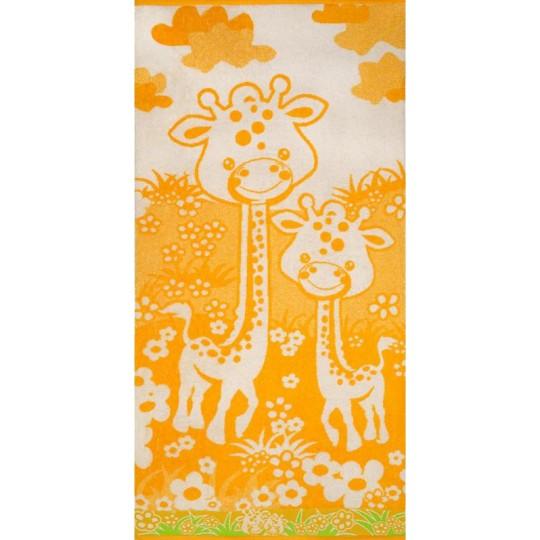 1824 Полотенце махровое 50х90 Giraffa