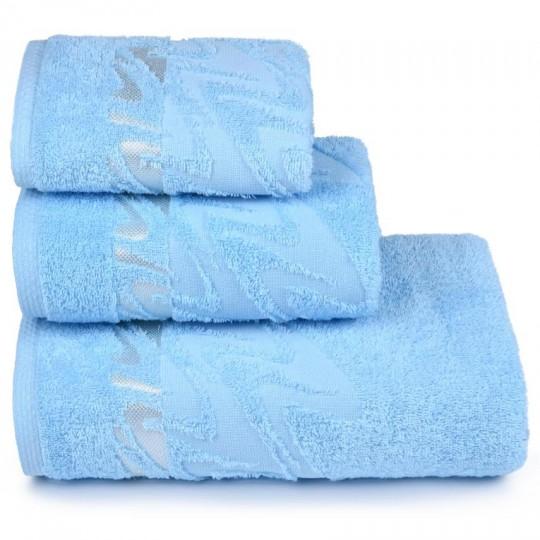 3873 Полотенце махровое 70х130 Brilliance, голубой