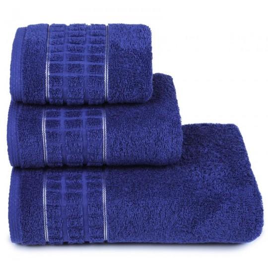 3874 Полотенце махровое 40х60 Megapolis, синий