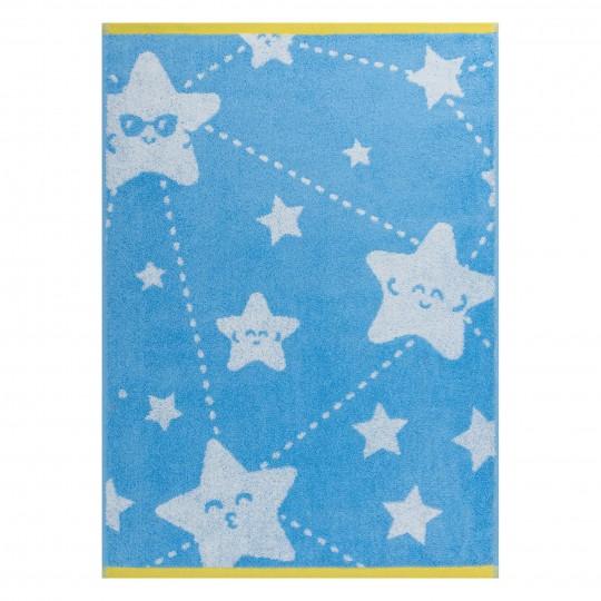4551 Полотенце махровое 50х70 Funny stars