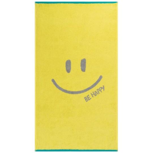 4553 Полотенце махровое 50х90 Be happy