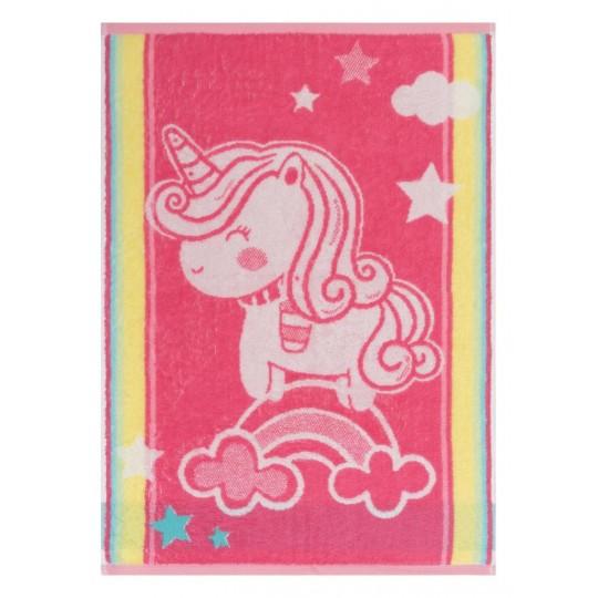 4574 Полотенце махровое 100х150 Unicorn