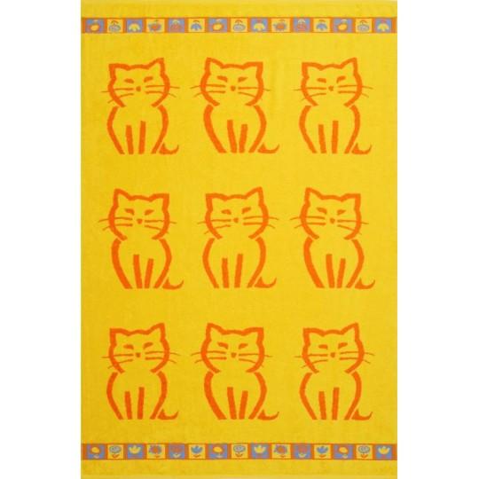 67 Полотенце махровое 100х150 Kitty