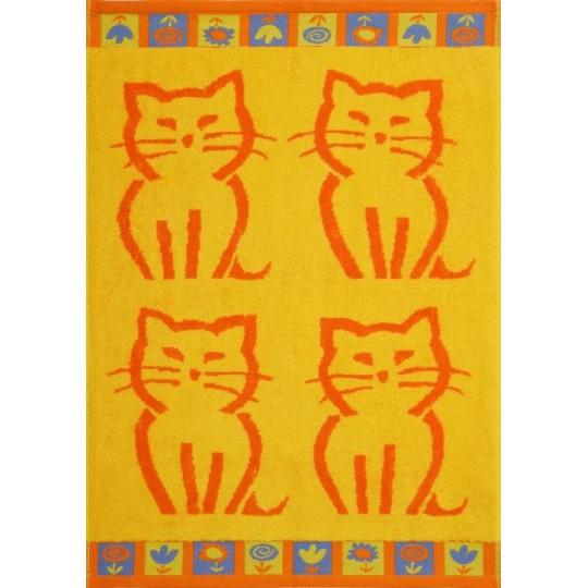 67 Полотенце махровое 50х70 Kitty