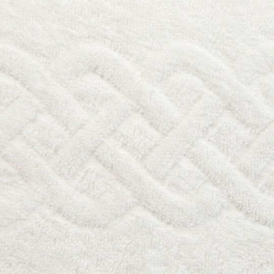 01933 Полотенце махровое 100х150 Plait, белый
