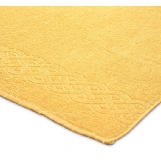 01933 Простыня махровая Plait 200х220 см, желтая