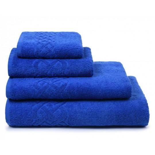 01933 Полотенце махровое 50х90 Plait, синий