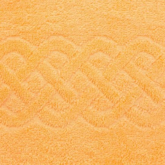 01933 Полотенце махровое 50х90 Plait, персиковый
