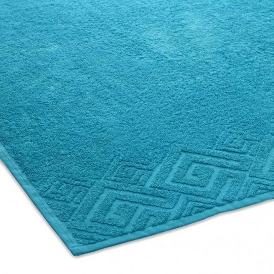 04000 Полотенце махровое 70х130 Poseidon, бирюзовый