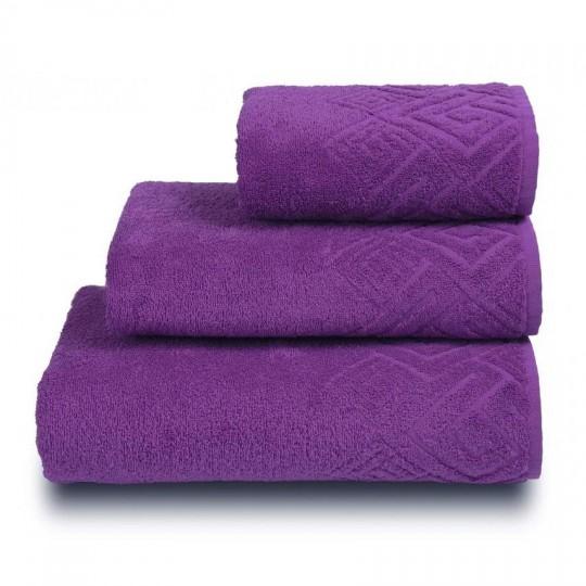 04000 Полотенце махровое 50х90 Poseidon, фиолетовый