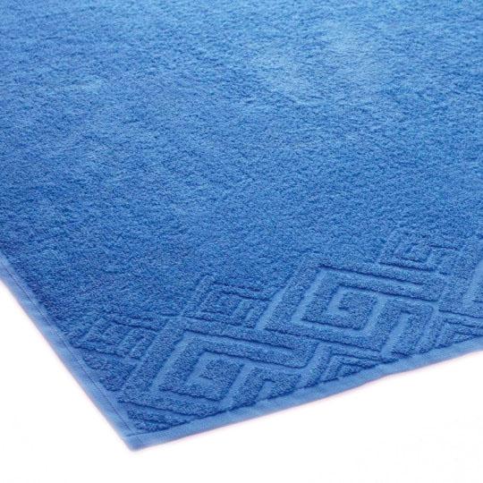 04000 Полотенце махровое 70х130 Poseidon, голубой
