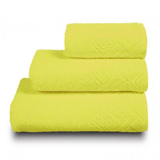04000 Полотенце махровое 70х130 Poseidon, желтый