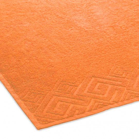 04000 Полотенце махровое 70х130 Poseidon, оранжевый