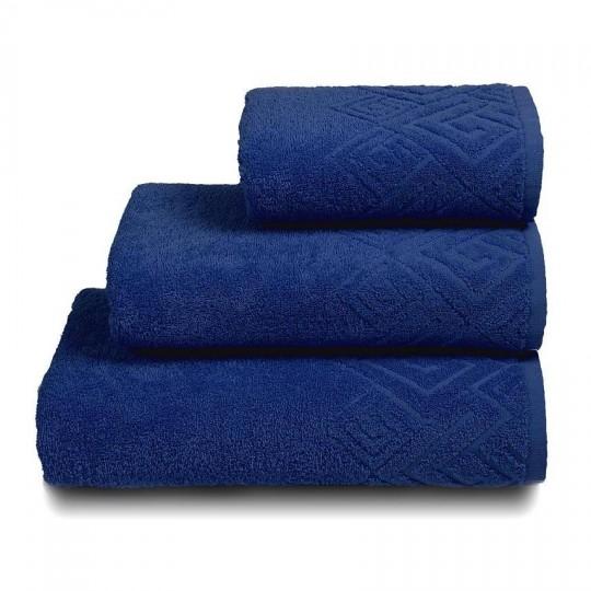 04000 Полотенце махровое 50х90 Poseidon, темно-синий