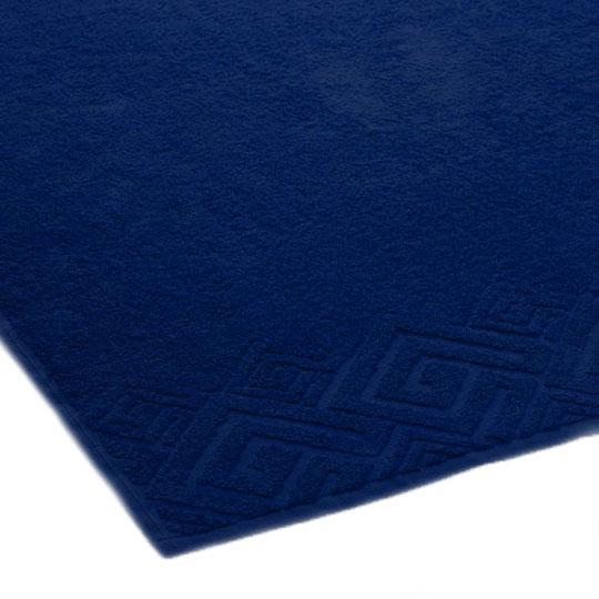 04000 Полотенце махровое 70х130 Poseidon, темно-синий
