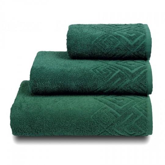 04000 Полотенце махровое 50х90 Poseidon, темно-зеленый