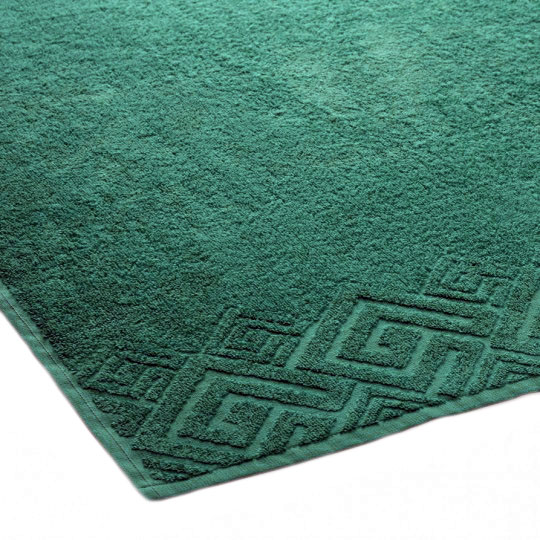 04000 Полотенце махровое 70х130 Poseidon, темно-зеленый