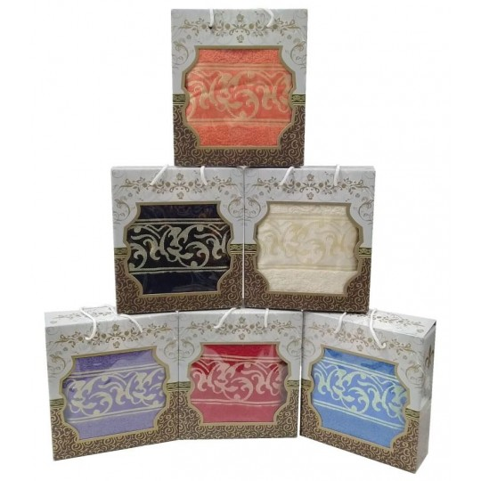 Подарочное махровое полотенце Версаль