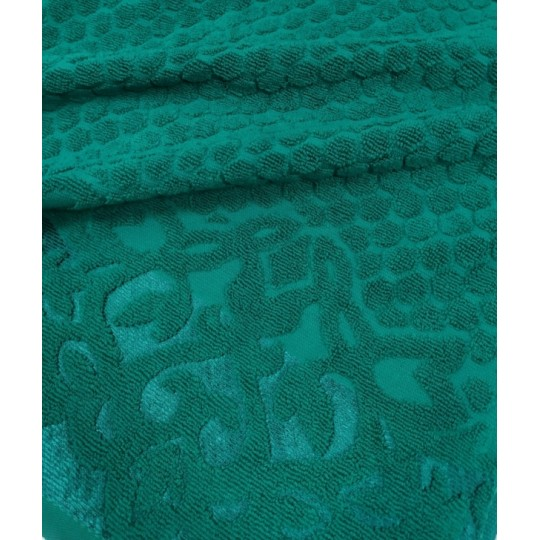 Полотенце 50х90 махровое Аврора, изумруд