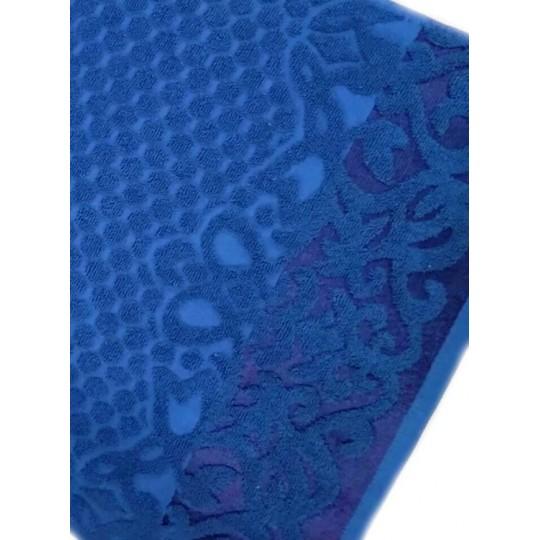 Полотенце 30х60 махровое Аврора, синий