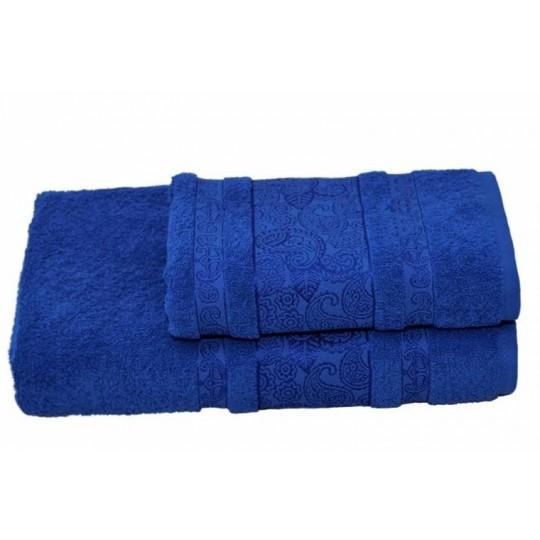Полотенце 50х90 махровое Бодрум, синий