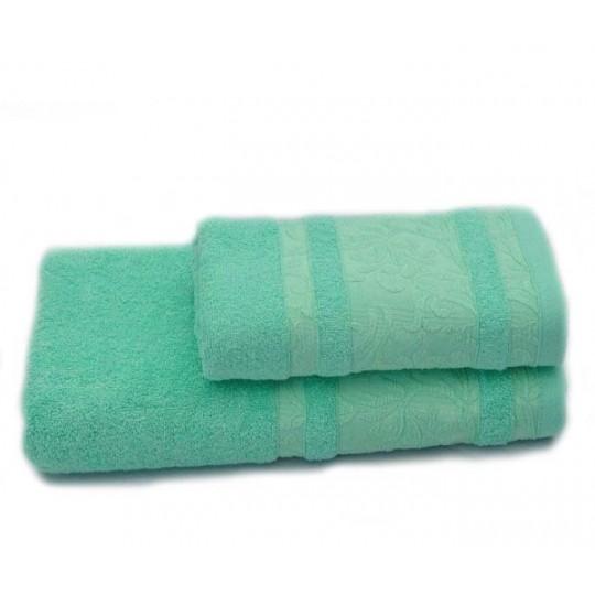 Полотенце 50х90 махровое Лейла, мятный