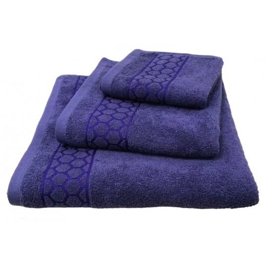 Полотенце 50х90 махровое Медея, фиолет